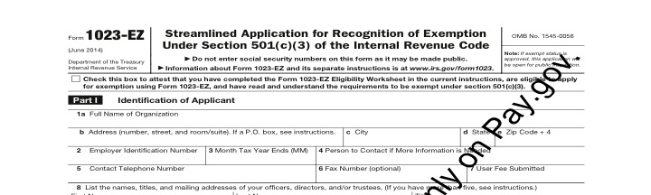Is the New Form 1023EZ Too Easy? Part I - Introduction | For ...