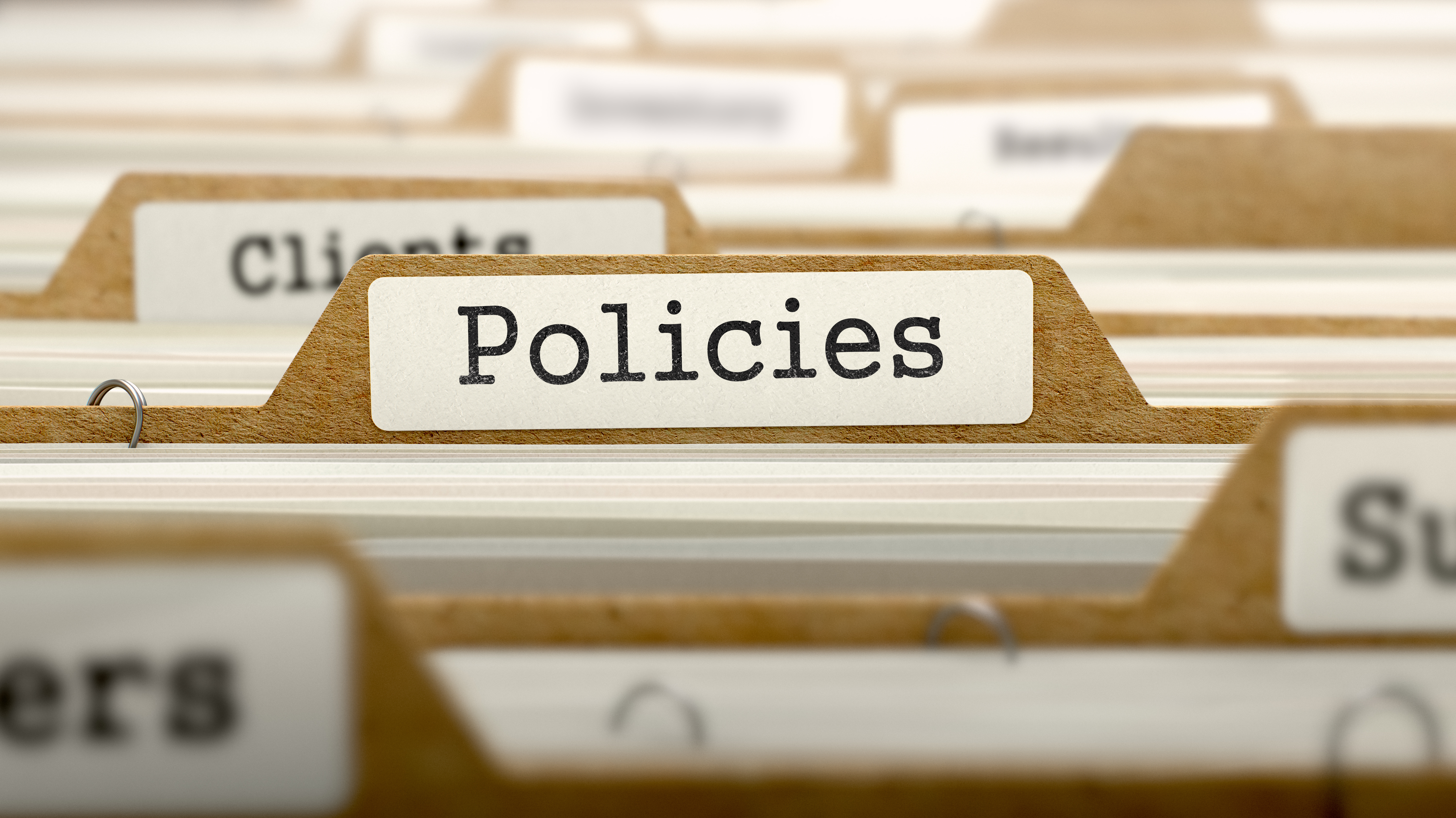 Policies  >> Written Governance Policies Which Ones Should Nonprofits Have