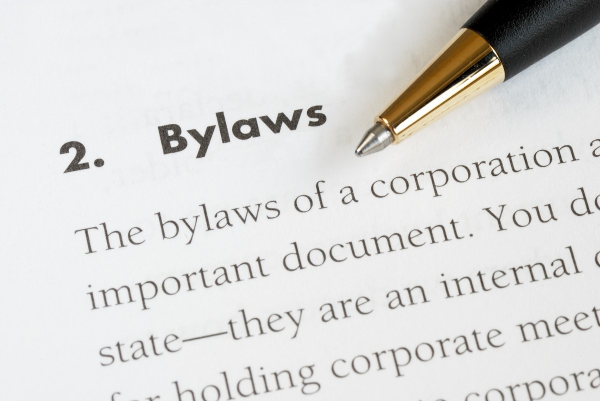 bylaws of a corporation